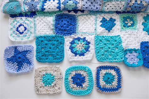 crochet mantas manta de diferentes squares angeles antolin
