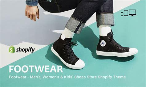 shopify themes shoes footwear men s women s kid s shoes store responsive