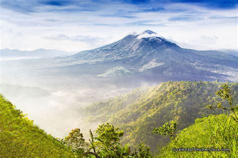 drive up mount batur mount batur volcano in kintamani bali volcanoes and