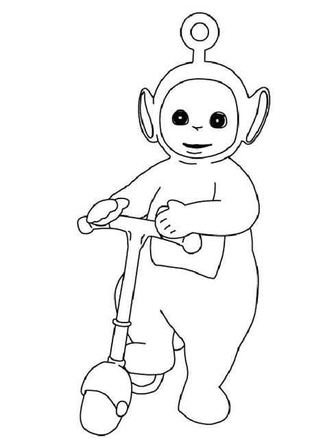 Teletubies Free Colouring Pages Teletubbies Coloring Page