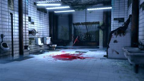 saw bathroom scene corner scene saw bathroom polycount