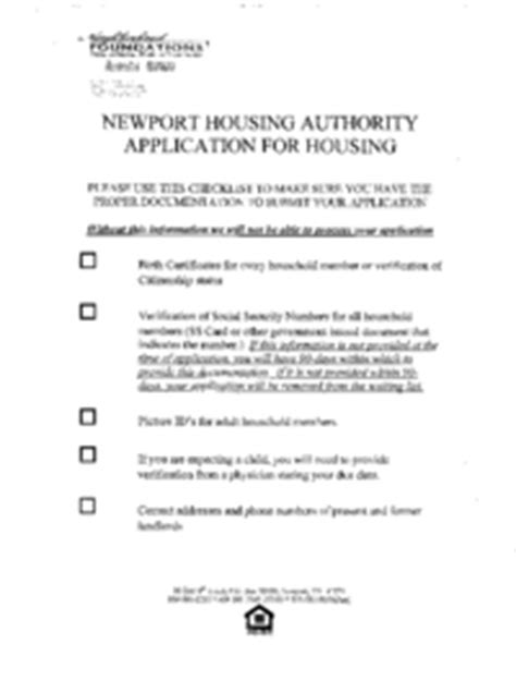low income housing application newport ky housing applications newport low income