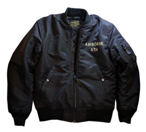 houston map jacket houston 刺繍 ma 1 flight jacket 50431ブラック