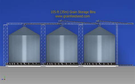 layout bin grain storage systems design layout engineering of