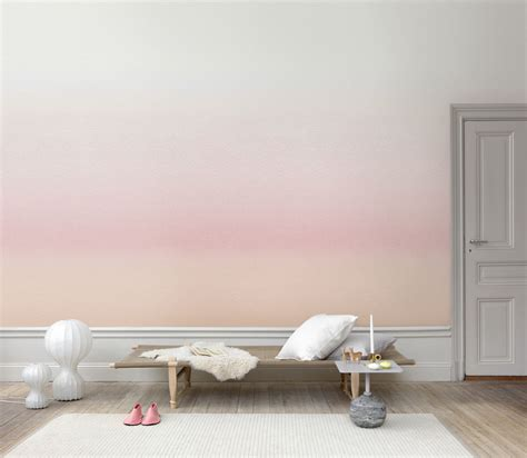 ombre wall ombre wallpaper inspired by swedish landscapes at dusk and
