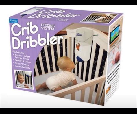 Baby Crib Dribbler Crib Dribbler Crib Dribbler Trusper Why Not Just Feed Babies Like Gerbils Gizmodo Australia