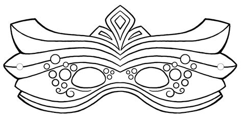 mardi gras mask template free coloring pages of mask to color