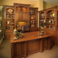 Home Office Desk Units by Custom Made Executive Desk With Wall Unit Transitional