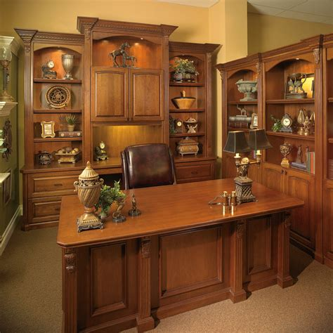 Custom Built Desks Home Office Custom Made Executive Desk With Wall Unit Transitional Home Office Orlando By Furniture