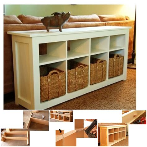 sofa table plans free wonderful diy sofa table with free plans