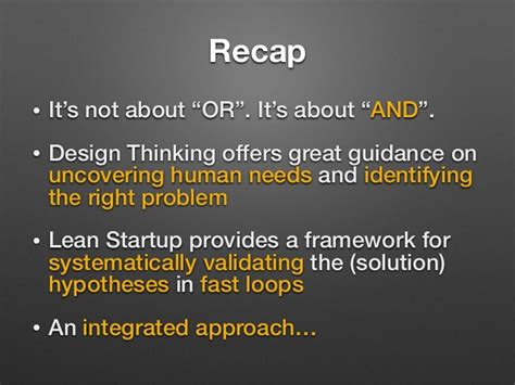 design thinking vs lean startup design thinking vs lean startup friends or foes