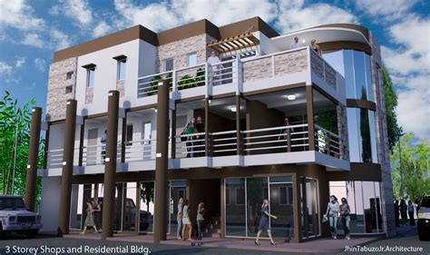 revit tutorial manila modern commercial building design in the philippines