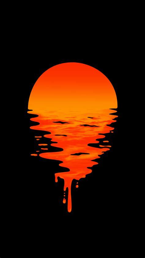 liquid sunset fantastic wallpapers wallpaper cool