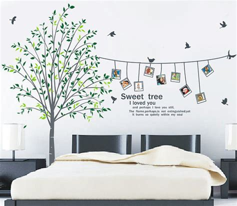 wall stickers for the home sweet home i you photo frame wall sticker home