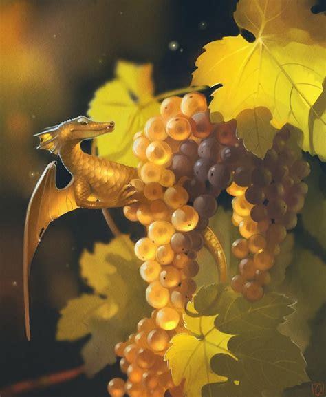 fruit dragons  russian artist alexandra khitrova bored