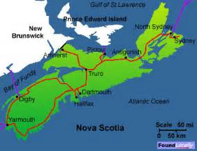 where is scotia in canada on the map scotia map on transcanadahighway