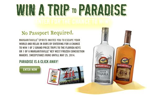 Florida Sweepstakes - margaritaville win a trip to florida 2014 sweepstakes giveawayus com
