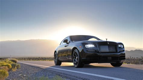 rolls royce wraith wallpaper rolls royce wraith black badge 4k wallpapers hd wallpapers