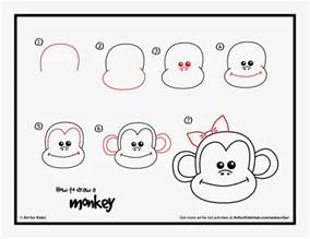 how to draw a monkey how to draw a monkey by steps on how to trace an electrical wire