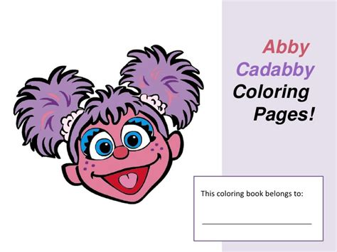 Abby Cadabby Template free abby cadabby coloring pages