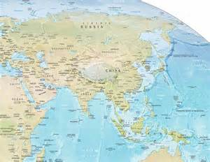 us atlas physical map asia physical map