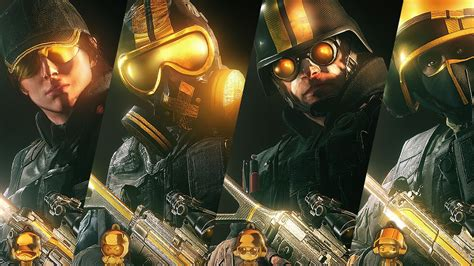 Rainbow 6 Set by Rainbow Six Siege Pro League Gold Sets Gameplay Weapon