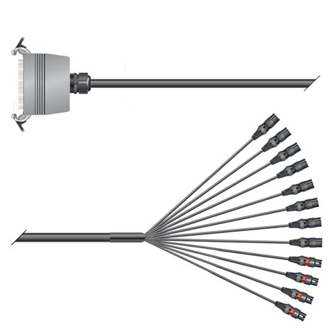 Kabel Multicore sommer cable shop multicore kabel mit rechteck mp