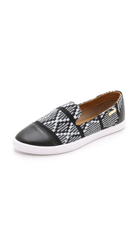 pointy sneakers lyst kaanas senegal pointy toe slip on sneakers cabo