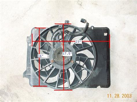 Chion 3 Core Radiator And High Cfm Volvo Electric Fan