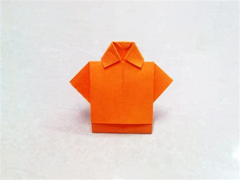 Paper Shirt Origami - free coloring pages how to make an origami paper t shirt