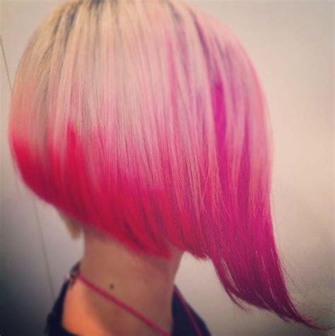 blonde bob pink pink blonde bob hair wishes pinterest blonde bobs