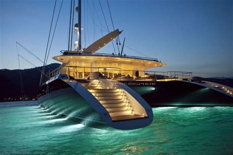 luxury catamaran hemisphere available in new zealand - Hemisphere Catamaran Superyacht