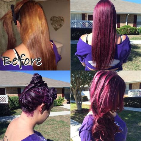 age beautiful hair color light raspberry brown plum brown using age beautiful 4v hair