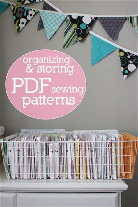 sewing pattern organization software 25 craft supplies and organization tutorials craft maker