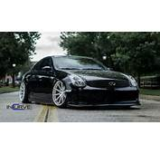 Incurve Wheels Cars Tuning Infiniti G35 Coupe Wallpaper Background