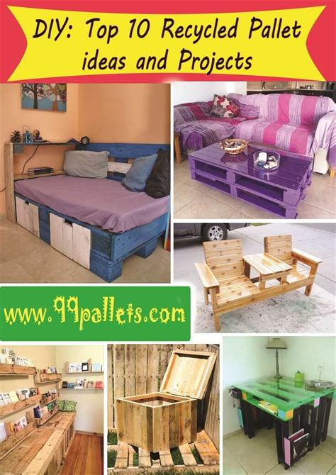 pallet furniture diy crafts directory of free projects diy top 10 recycled pallet ideas and projects