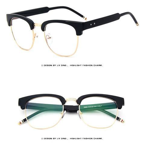 bold thick retro acetate vintage eyeglasses