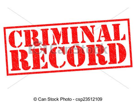 See My Criminal Record For Free Stock Illustration Of Criminal Record Rubber St A White Background