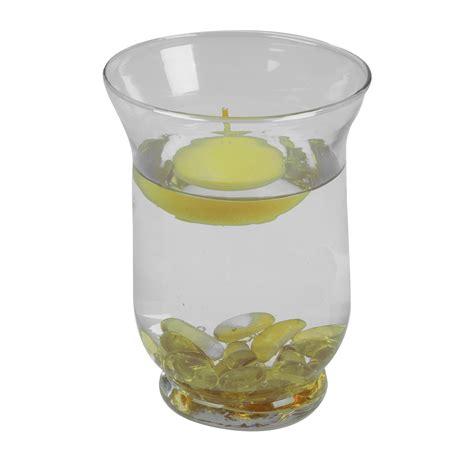 Floating Candle Vase by Decorative Floating Candles Glass Vase Stones Wedding Table Centrepiece Decor Ebay