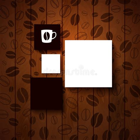 coffee shop background pattern royalty free vector image design template for your coffee shop stock vector image