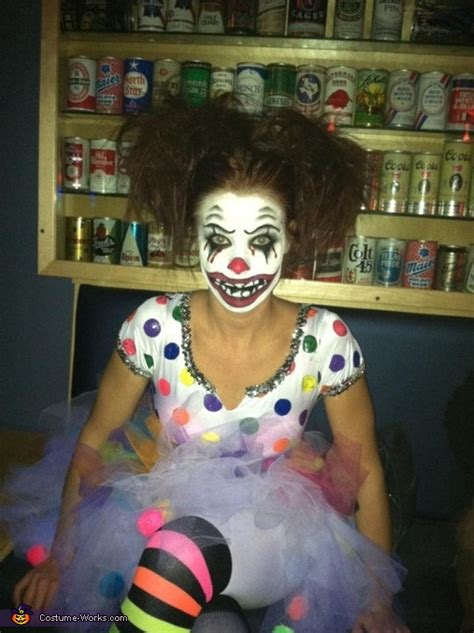 clown bright halloween costume coolest diy costumes