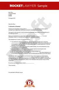 Termination Letter Format For Misconduct Dismissal Letter For Misconduct Sle Dismissing Employee After Warning