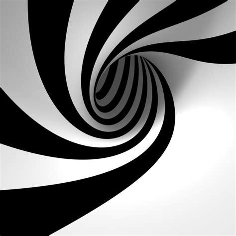 abstract black  white circle ipad wallpaper  ipad