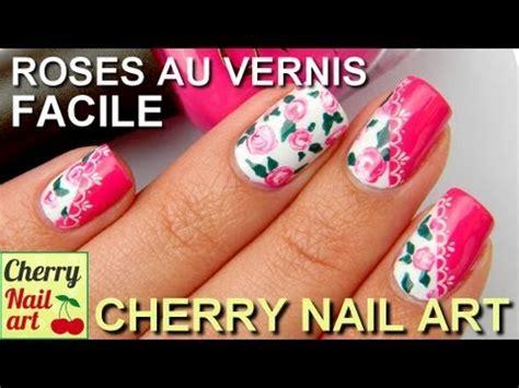 tammy taylor nails inc youtube nail art facile roses au vernis youtube