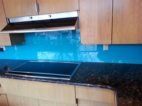 back painted glass kitchen backsplash 7 cool uses of glass in a contemporary luxury home
