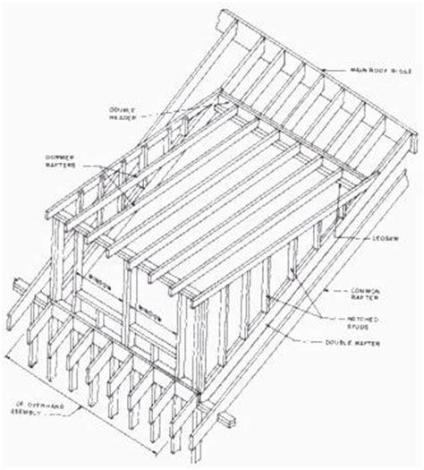 Dormer Window Construction Plans Shed Dormer Framing Plans Pdf Build Your Own Cabin Plans