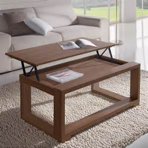 table basse relevable on