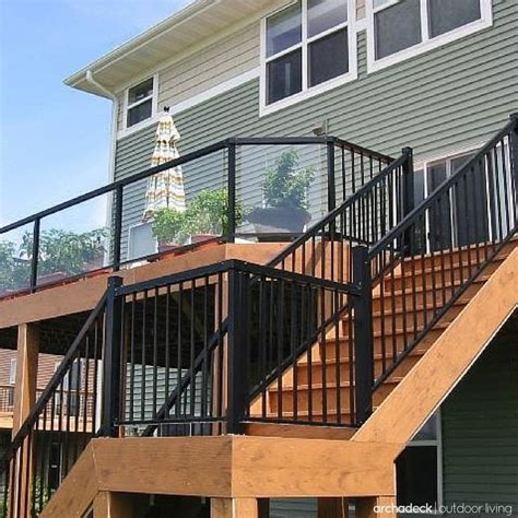 Railing Pickets 25 Best Ideas About Metal Deck Railing On