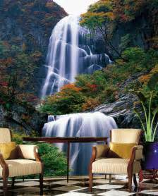 wholesale wall murals 3d waterfall picture more detailed picture about