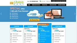 host of candid candid host to offer no cost domain registration on linux